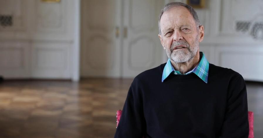 Erhard hat Blepharospasmus und erzählt von seinem Leben mit Lidkrampf